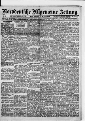 Norddeutsche allgemeine Zeitung vom 16.01.1879