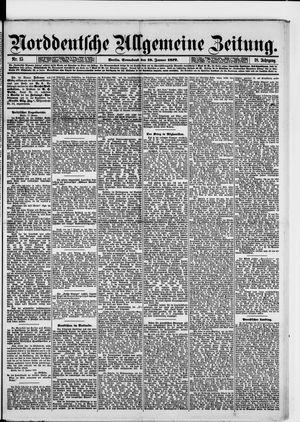Norddeutsche allgemeine Zeitung vom 18.01.1879