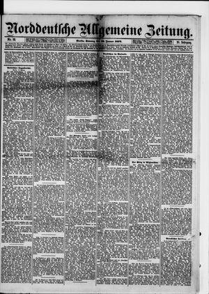 Norddeutsche allgemeine Zeitung vom 19.01.1879
