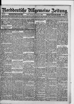 Norddeutsche allgemeine Zeitung vom 21.01.1879