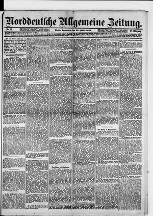 Norddeutsche allgemeine Zeitung vom 23.01.1879
