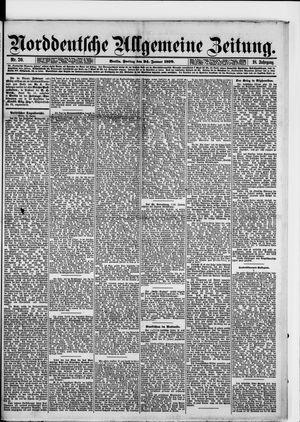 Norddeutsche allgemeine Zeitung vom 24.01.1879