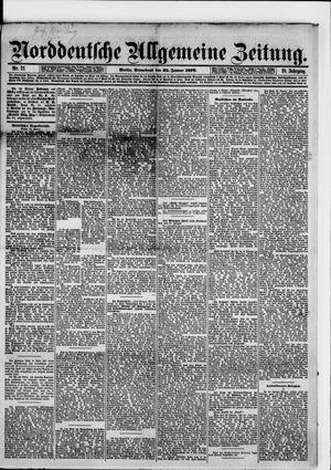 Norddeutsche allgemeine Zeitung vom 25.01.1879