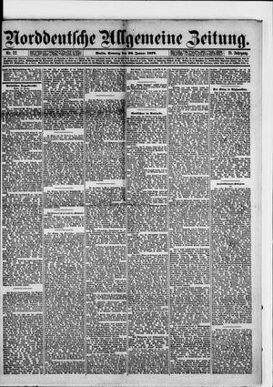 Norddeutsche allgemeine Zeitung vom 26.01.1879