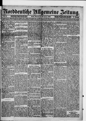 Norddeutsche allgemeine Zeitung vom 29.01.1879