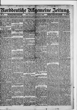 Norddeutsche allgemeine Zeitung vom 30.01.1879