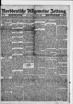 Norddeutsche allgemeine Zeitung on Feb 2, 1879
