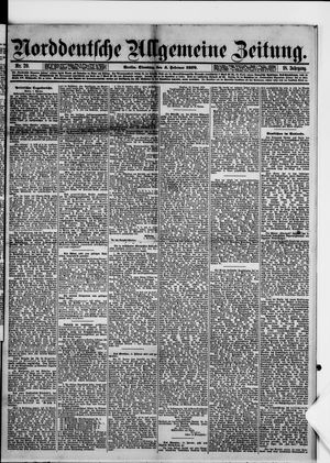 Norddeutsche allgemeine Zeitung vom 04.02.1879