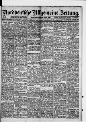 Norddeutsche allgemeine Zeitung vom 06.02.1879