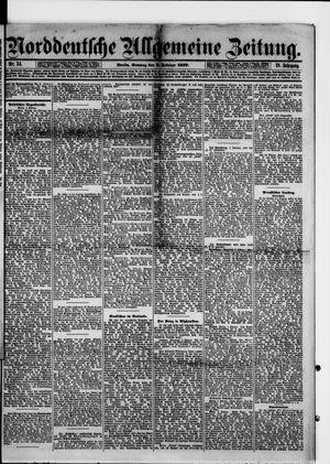 Norddeutsche allgemeine Zeitung vom 09.02.1879