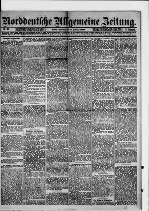 Norddeutsche allgemeine Zeitung vom 11.02.1879