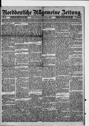 Norddeutsche allgemeine Zeitung vom 12.02.1879