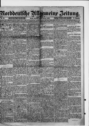 Norddeutsche allgemeine Zeitung vom 16.02.1879