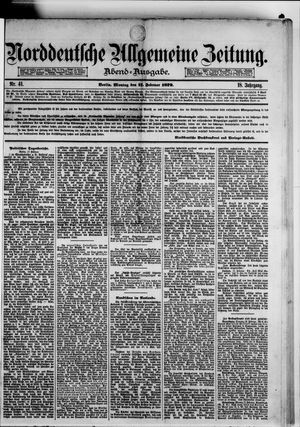 Norddeutsche allgemeine Zeitung on Feb 17, 1879