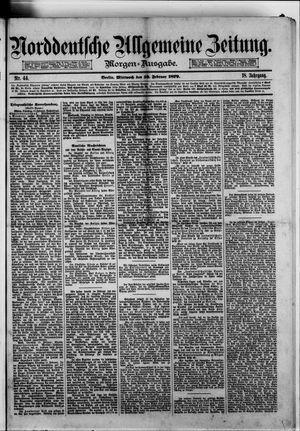 Norddeutsche allgemeine Zeitung on Feb 19, 1879