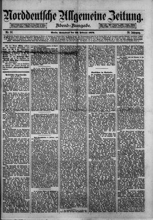 Norddeutsche allgemeine Zeitung vom 22.02.1879