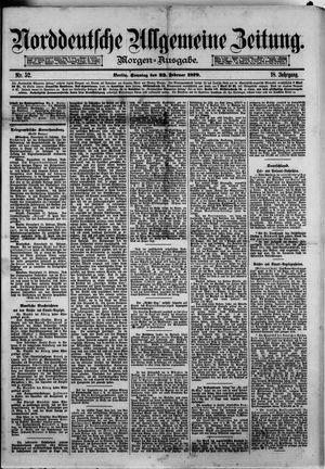 Norddeutsche allgemeine Zeitung vom 23.02.1879