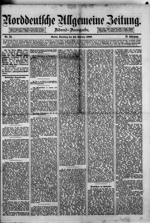 Norddeutsche allgemeine Zeitung vom 25.02.1879
