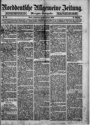 Norddeutsche allgemeine Zeitung vom 27.02.1879