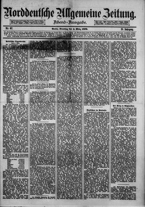 Norddeutsche allgemeine Zeitung on Mar 4, 1879