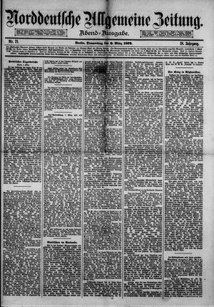 Norddeutsche allgemeine Zeitung vom 06.03.1879