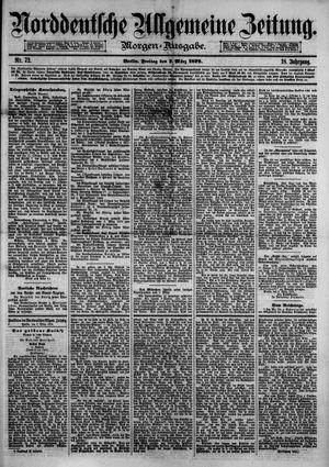 Norddeutsche allgemeine Zeitung vom 07.03.1879