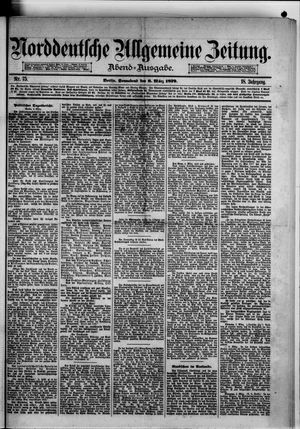 Norddeutsche allgemeine Zeitung vom 08.03.1879