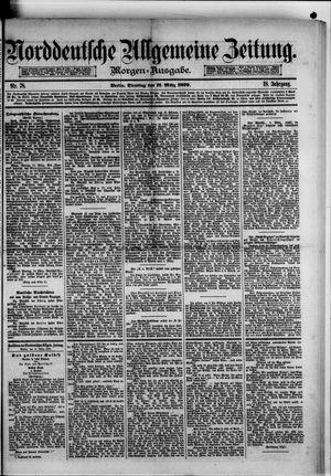 Norddeutsche allgemeine Zeitung vom 11.03.1879
