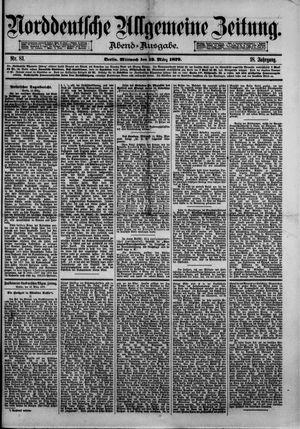 Norddeutsche allgemeine Zeitung vom 12.03.1879