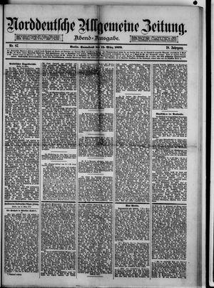 Norddeutsche allgemeine Zeitung vom 15.03.1879