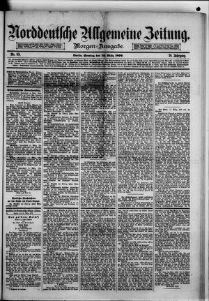 Norddeutsche allgemeine Zeitung vom 16.03.1879