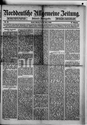 Norddeutsche allgemeine Zeitung vom 17.03.1879