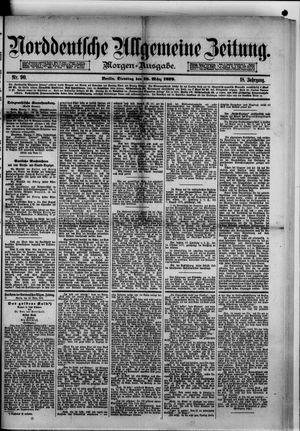 Norddeutsche allgemeine Zeitung vom 18.03.1879