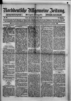 Norddeutsche allgemeine Zeitung vom 21.03.1879