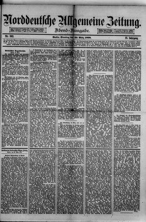Norddeutsche allgemeine Zeitung vom 25.03.1879