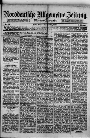 Norddeutsche allgemeine Zeitung vom 26.03.1879