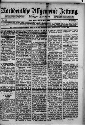 Norddeutsche allgemeine Zeitung on Mar 30, 1879