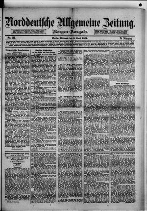 Norddeutsche allgemeine Zeitung on Apr 2, 1879