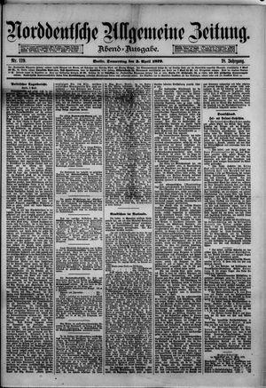 Norddeutsche allgemeine Zeitung vom 03.04.1879