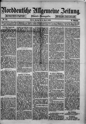 Norddeutsche allgemeine Zeitung vom 04.04.1879