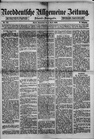 Norddeutsche allgemeine Zeitung vom 05.04.1879