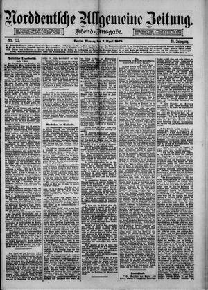 Norddeutsche allgemeine Zeitung vom 07.04.1879