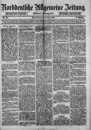 Norddeutsche allgemeine Zeitung vom 08.04.1879