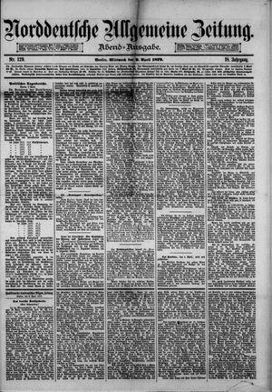 Norddeutsche allgemeine Zeitung vom 09.04.1879