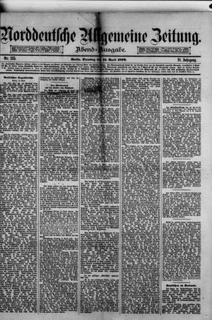 Norddeutsche allgemeine Zeitung on Apr 15, 1879