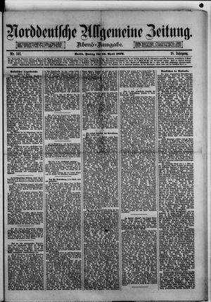 Norddeutsche allgemeine Zeitung vom 18.04.1879