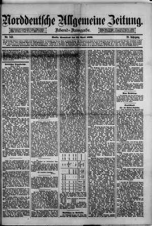 Norddeutsche allgemeine Zeitung on Apr 19, 1879