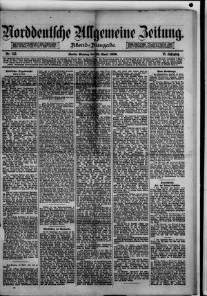 Norddeutsche allgemeine Zeitung vom 21.04.1879