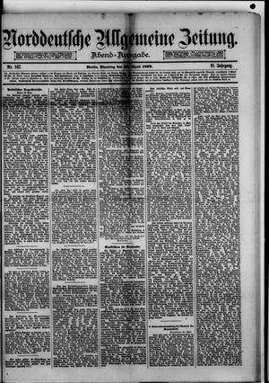 Norddeutsche allgemeine Zeitung vom 22.04.1879