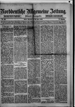 Norddeutsche allgemeine Zeitung vom 23.04.1879